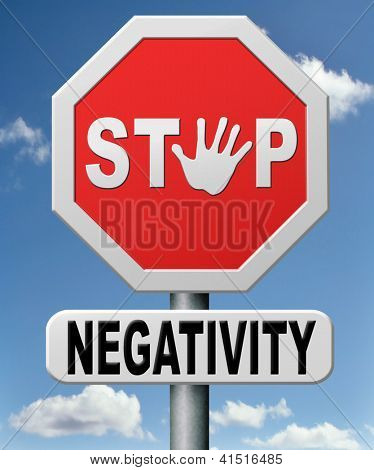 stop negativity and pessimism pessimistic thoughts dont think negative but positive and optimistic thinking makes you happy