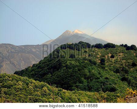 Vulcano Mount Etna