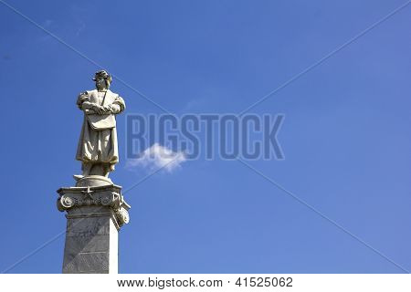 Columbus And Sky Background.