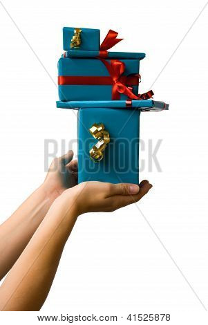 Hand Offering Gifts