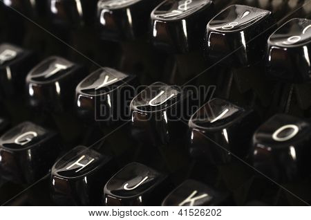 Typewriter Keys