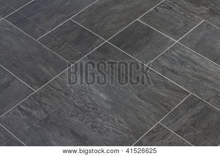 Telhas de assoalho do vinil de textura de pedra ardósia