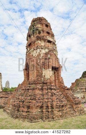 Pagoda In Wat Phra Mahathat