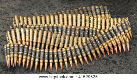 Ammunition Bullets.