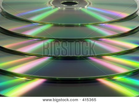 Stacked Cd/dvd's