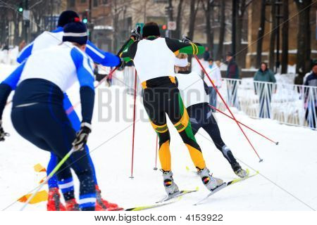 Cross Country Ski Race