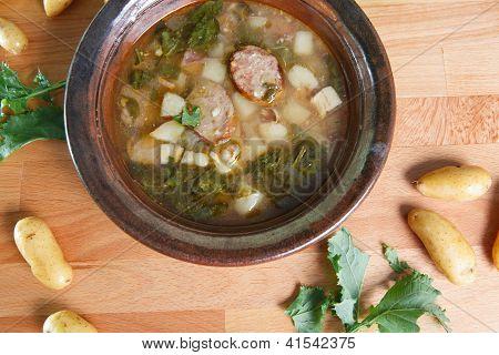 Rustic Tuscan Sausage Soup