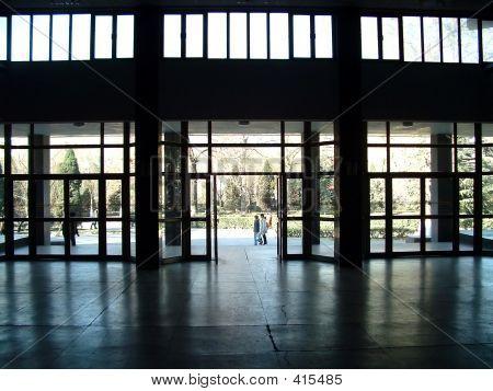 Waiting Hall Of One University
