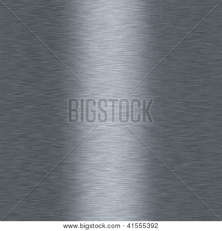 Bushed Metalic Aluminum Seamless Repeating Background