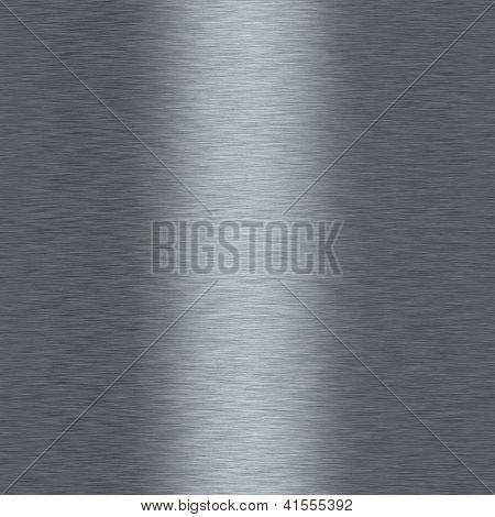 Bushed Metalic Aluminum Seamless Repeating Background