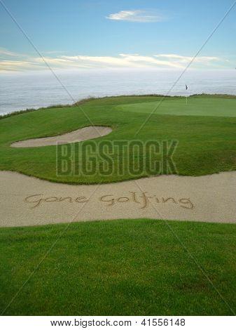Ido a jogar golfe