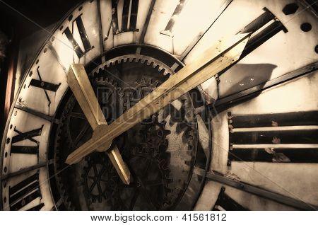Vintage Clock Detail