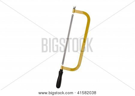 Hacksaw Isolated On White