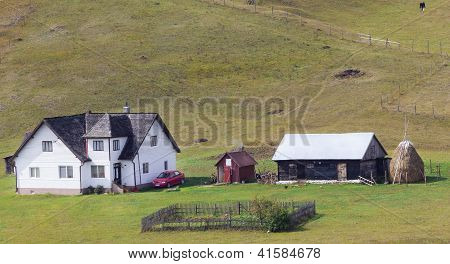 Nice Farm In The Carpathians