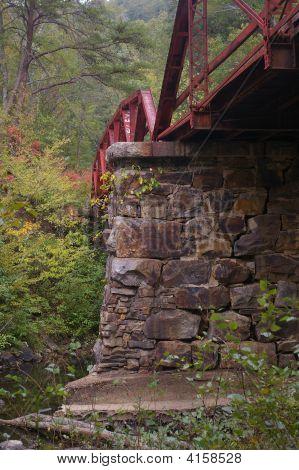 Narrow Guage Railroad Tressle Bridge