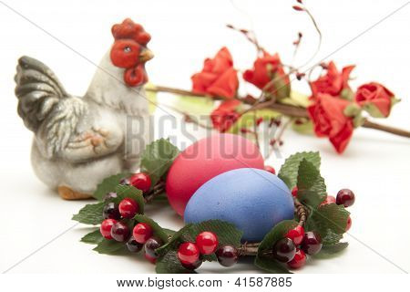 Eastereggs and Chick for Decoration