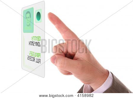 Hand And Security Touch Screen