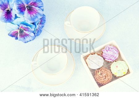 Tea For Two With Sweets