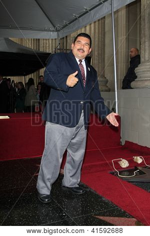 LOS ANGELES - JAN 25: Guillermo Rodriguez at a ceremony where  Jimmy Kimmel is honored with a star on the Hollywood Walk of Fame on January 25, 2013 in Los Angeles, California