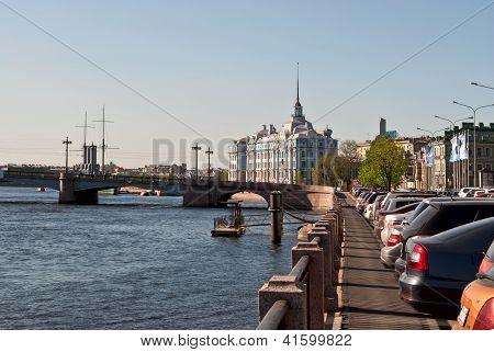 City embankment.