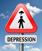 depression or nervous breakdown disorder of mental health psychotherapy diagnosis for therapy