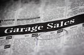 Garage Sale Ads (Shallow Depth Of Field)