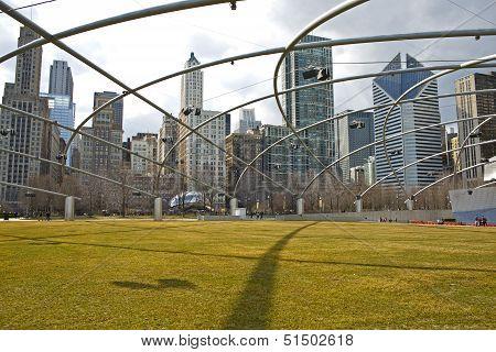Chicago Millennium Park Usa