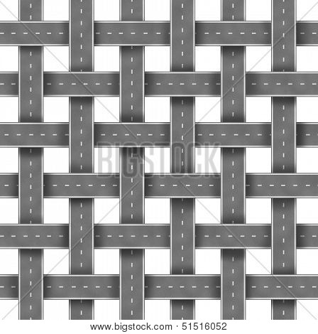 Roads And Street Pattern