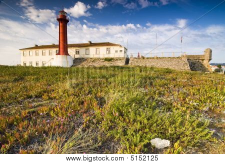 Lighthouse In Evening Light