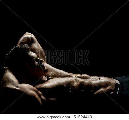 Muscular Sexy Guy poster