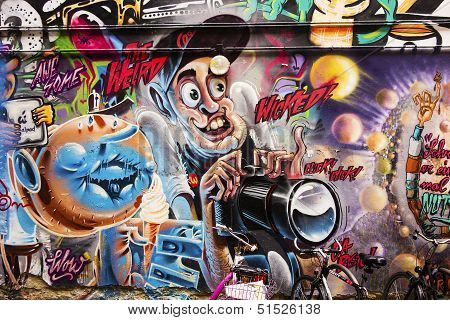 Wicked Photographer Graffiti