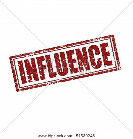 Influence-stamp