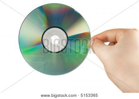 Hand With Cd