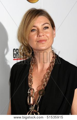 LOS ANGELES - SEP 28:  Ellen Pompeo at the Grey's Anatomy 200th Show Party at The Colony on September 28, 2013 in Los Angeles, CA