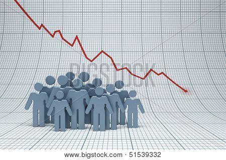 negative trend