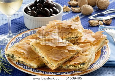 Opa! Spanakopita - Greek Spinach Pie