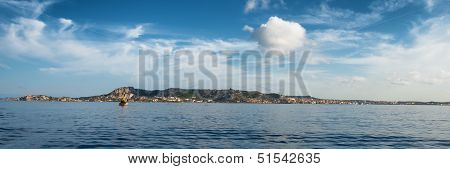 Panoramic View Of La Maddalena Archipelago In Sardinia