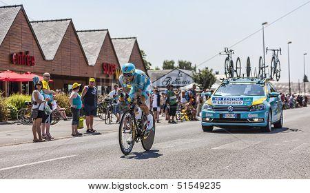 The Cyclist Alexey Lutsenko