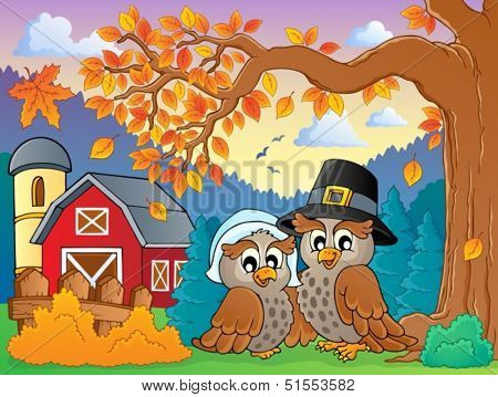 Thanksgiving theme image 4 - eps10 vector illustration.