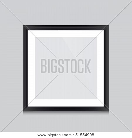 Poster-frame-black-square