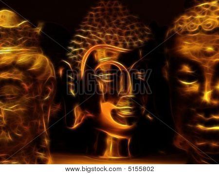 Buddhas Closeup