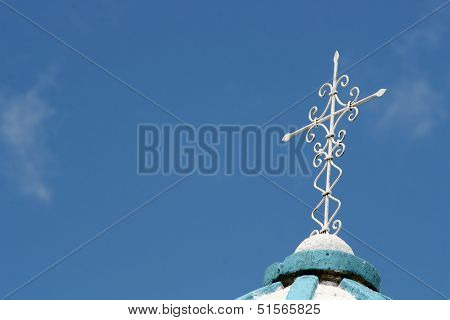 Cross and Blue Sky