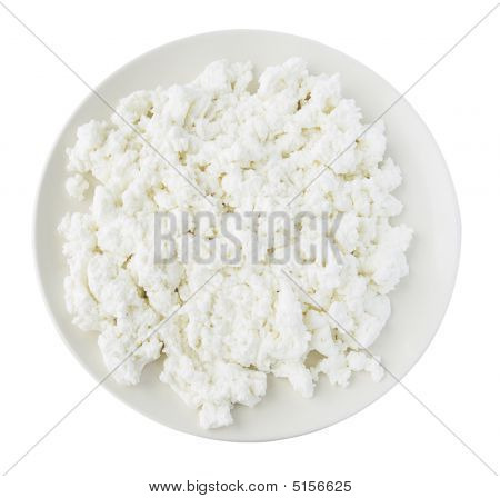Plate With Curds