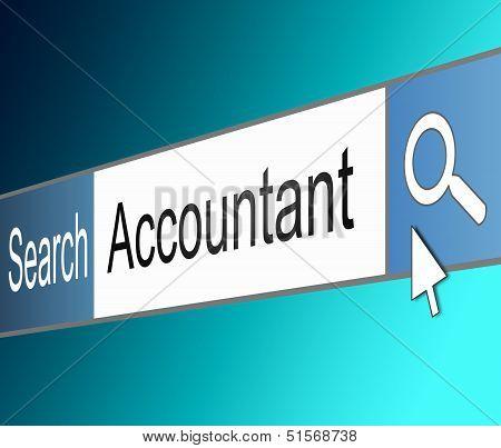 Accountant Concept.