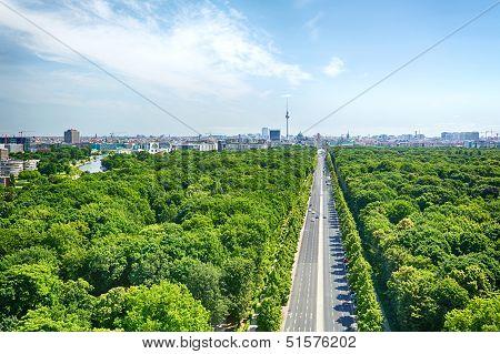 Berlin And The Under Den Linden Boulevard