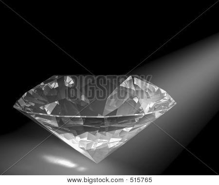 Diamond In White Light