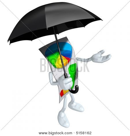 Business Report With Umbrellabusiness Report With Umbrella