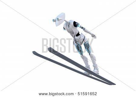 Robot Ski Jumper
