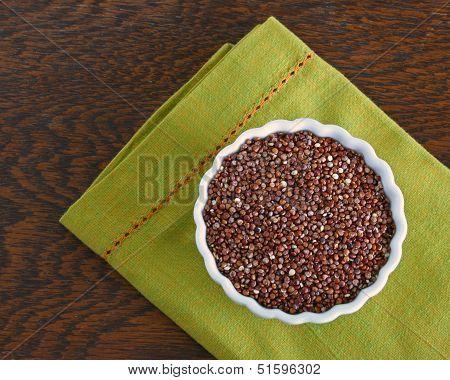 Bowl of Red Quinoa
