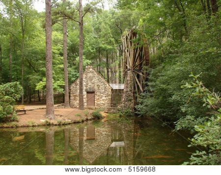 Martha Berry College Grist Mill And Mill Pond Georgia